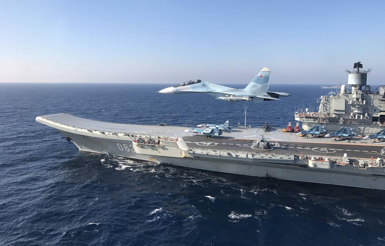 Несуществующий российский авианосец «выдал» лучшие показатели, нежели британский
