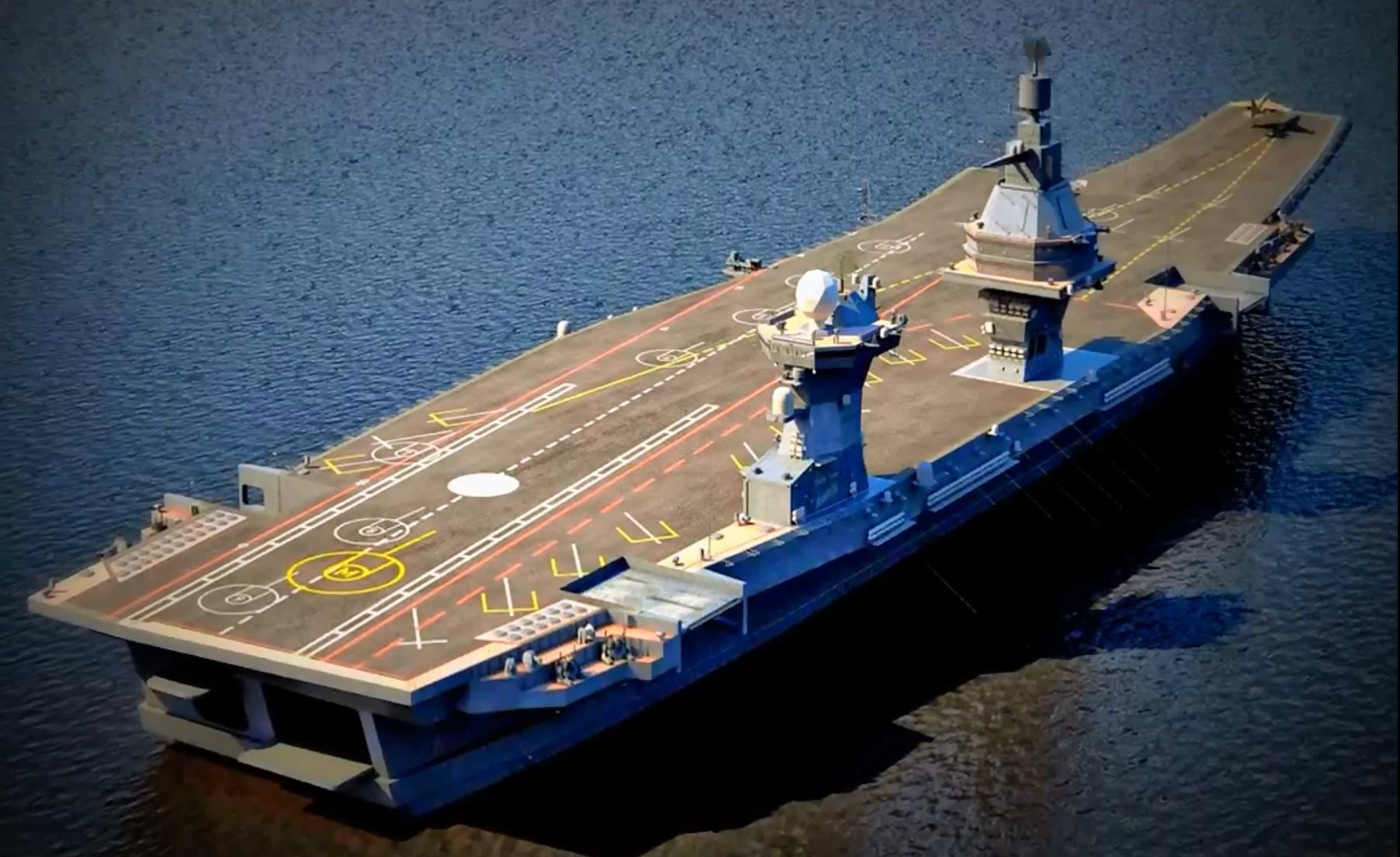 В РФ начата работа над техническим заданием на новый авианосец