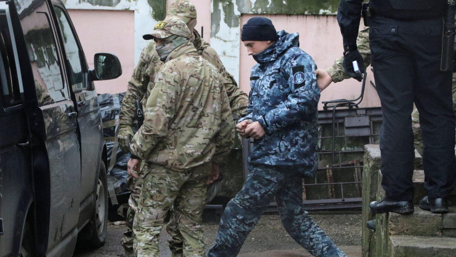 Украинских моряков должны освободить в скором времени