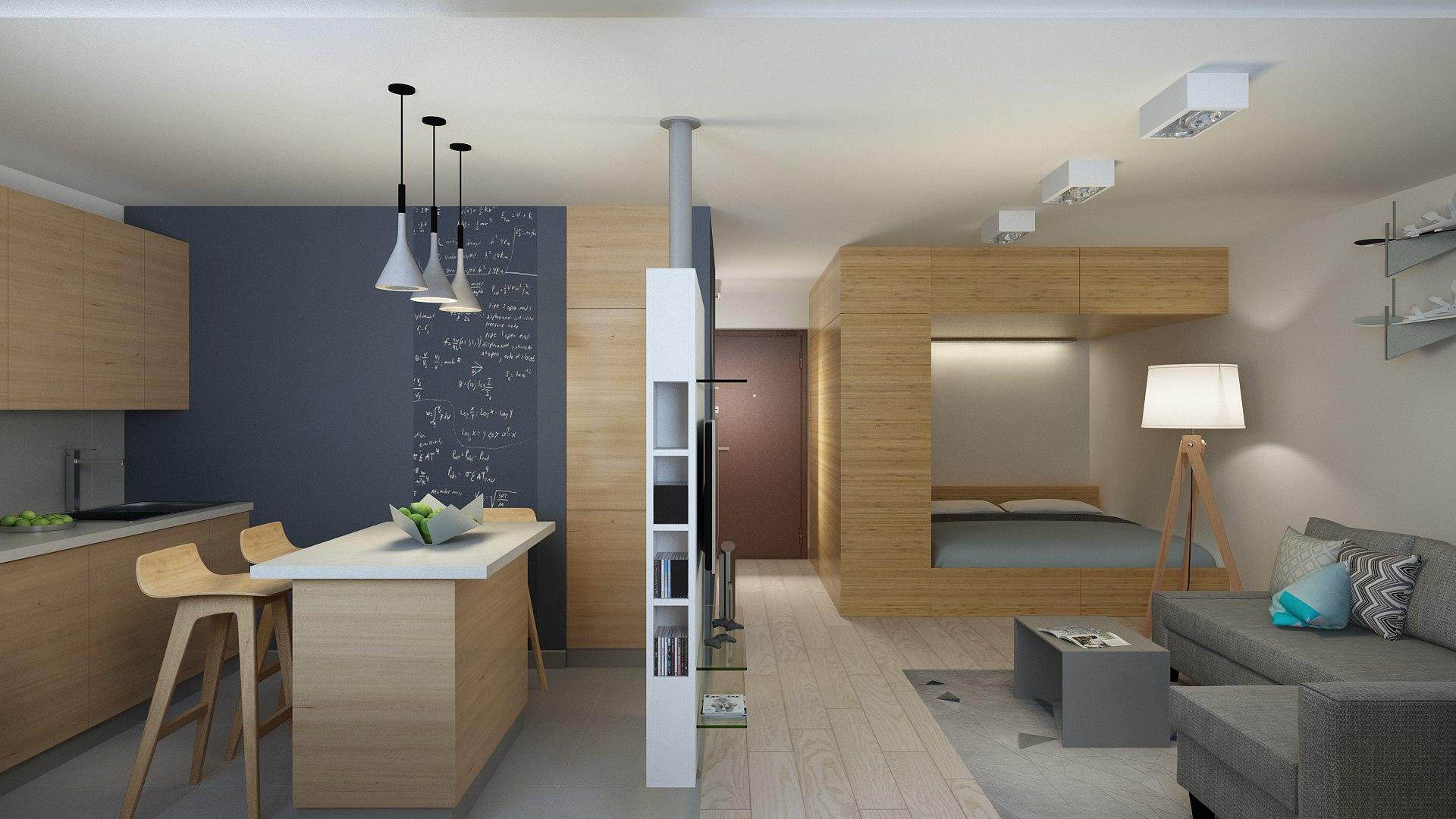 Жизнь без стен: все плюсы и минусы квартиры-студии